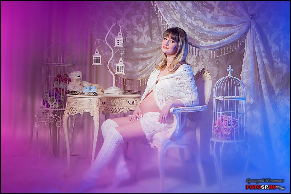 Декорации для фотосессии беременных 12
