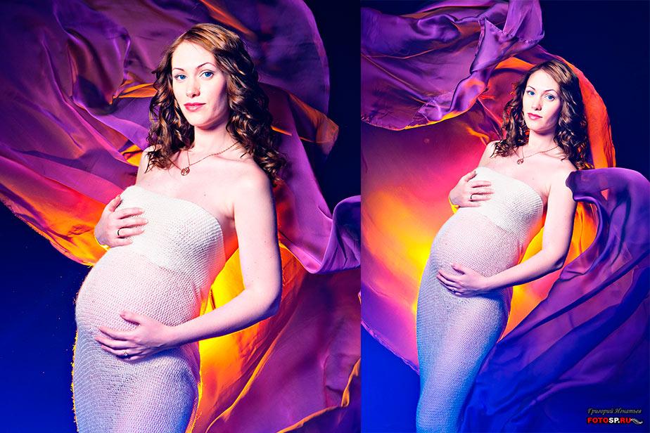Декорации для фотосессии беременных 49